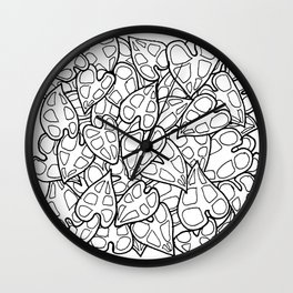 Simple Plants III Wall Clock