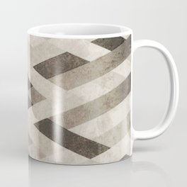 Abstract Pattern in Subtle Coffee Mug