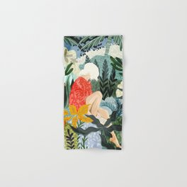 The Distracted Reader Hand & Bath Towel