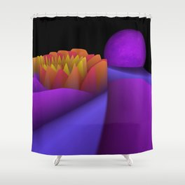 experiments on fractals -4- Shower Curtain