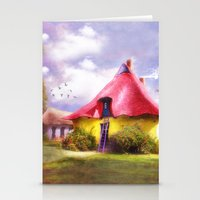 once upon a  time Stationery Cards featuring Once upon a time by VIAINA