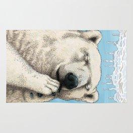 Polar prayer Rug
