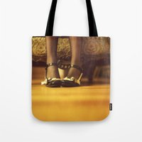 shoes Tote Bags featuring Shoes by Artemysia