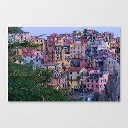 Cinque Terre at Dusk Canvas Print