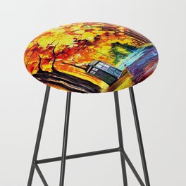 Tardis Stay Alone Bar Stool