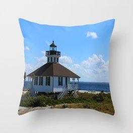 Port Boca Grande Light Throw Pillow
