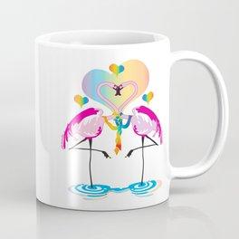 Gay Flamingos Coffee Mug