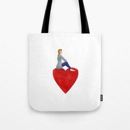 Saint valentin Tote Bag
