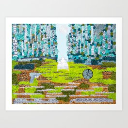 Dream of Awaking Art Print