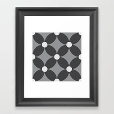 Pattern Tile 2.2 Framed Art Print