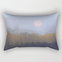 Winter Fog Rectangular Pillow