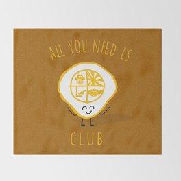 All u need is Adventure Club Throw Blanket