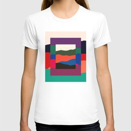Terran - Abstract Landscape Collage: 01 T-shirt