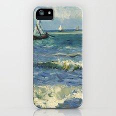 Seascape near Les Saintes-Maries-de-la-Mer by Vincent van Gogh iPhone (5, 5s) Slim Case