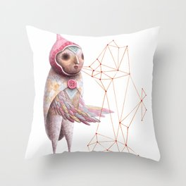 The Seeding Throw Pillow