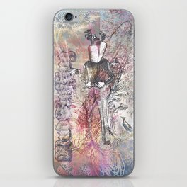 The Manly Carrot iPhone Skin