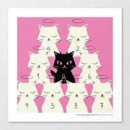 #30daysofcats 30/30 Canvas Print
