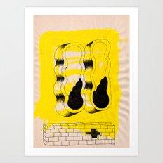 EYEZ I Art Print
