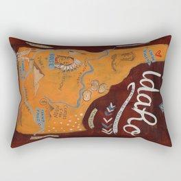 Idaho map Rectangular Pillow