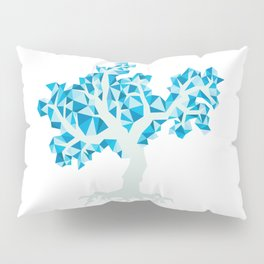 Blue Tree Pillow Sham