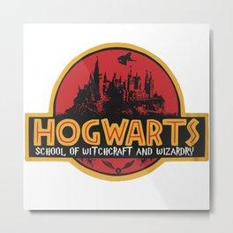 Hogwarts Park Metal Print