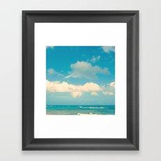 Loquillo Beach Framed Art Print