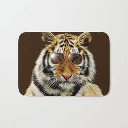 In the Eye of the Tiger Bath Mat