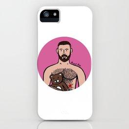 Beard Boy: Dani Bear iPhone Case