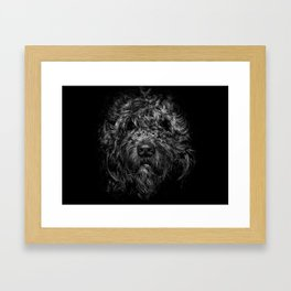 Ziggy Portrait No 1 Framed Art Print