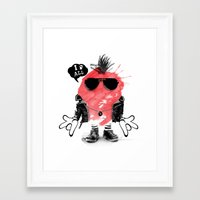 splash Framed Art Prints featuring SPLASH by Ali GULEC