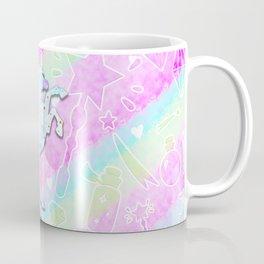 Pastel Rainbow Unicorn Coffee Mug