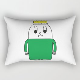 Carol-Singer Egg Rectangular Pillow