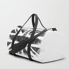 Black UK flag Duffle Bag