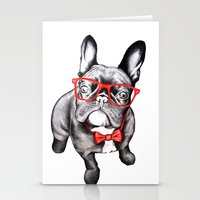 dog Stationery Cards featuring Happy Dog by 13 Styx