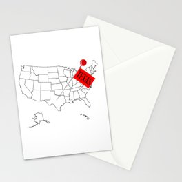Knob Pin Texas Stationery Cards
