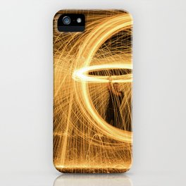 Circle of Fire iPhone Case