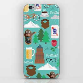 PDX patten iPhone Skin