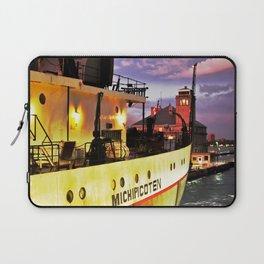 Sunset Freighter Laptop Sleeve