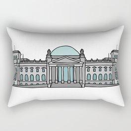 Reichstag building in Berlin Rectangular Pillow