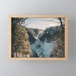 Taughannock Falls - New York, USA Framed Mini Art Print