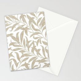 Delicate Leaf Pattern Stationery Cards