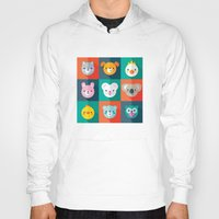 jazzberry Hoodies featuring PET PARADE by Daisy Beatrice