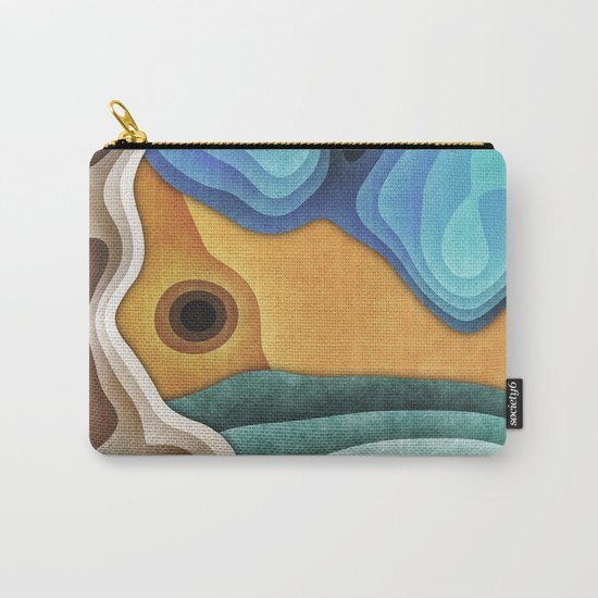 Landscape of Layers Carry-All Pouch