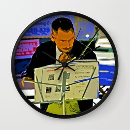 Music you may know Wall Clock