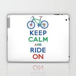 Keep Calm and Ride On Laptop & iPad Skin
