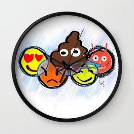 EmoninJa Wall Clock