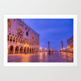 Piazza San Marco and Palazzo Ducale Art Print