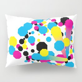 CMYK - Burst Pillow Sham