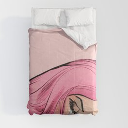 Pink Lady Comforters
