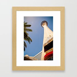 Stratosphere Framed Art Print